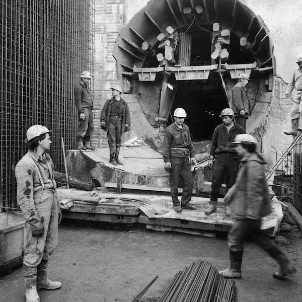 Výstavba metra – Stodůlky (1990)