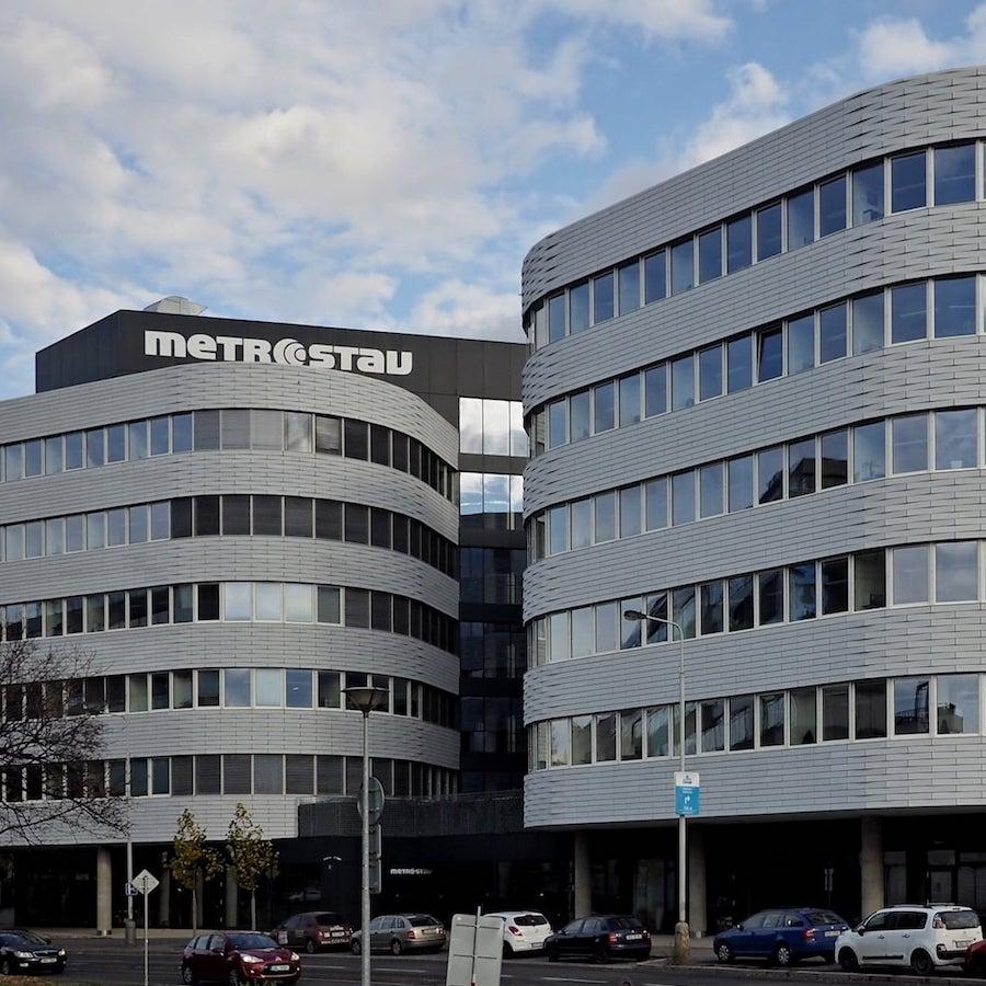 Ústředí společnosti Metrostav a.s. (2017)